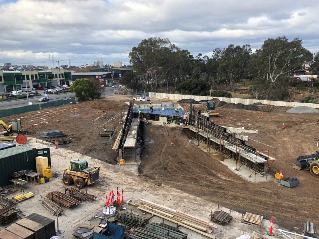 Ground Bin Construction