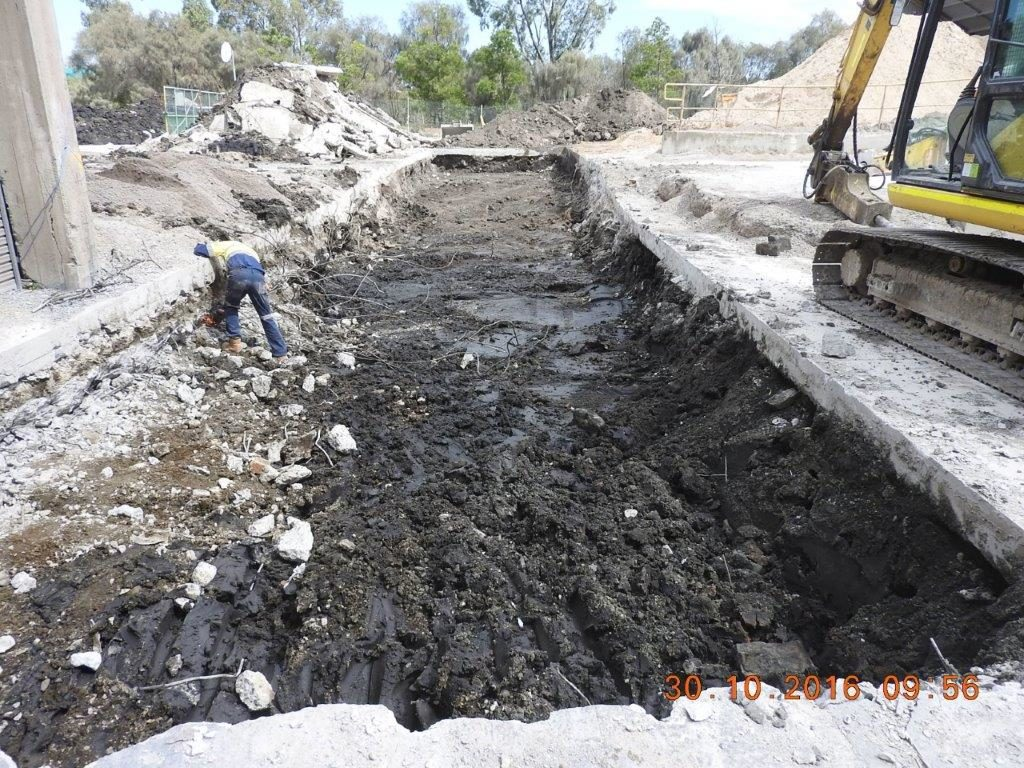Start of Tunnell Construction